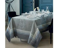 Garnier-Thiebaut ISAPHIRE Nappe Antitache, Coton, Agate, 174 x 364 cm