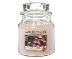 Yankee Candle bougie moyenne jarre, «Bois précieux»