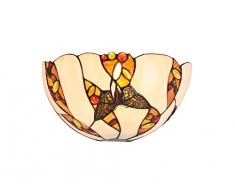 interfan Applique tiffany Butterfly E14, multicolore