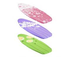 Metaltex Housse pour planche à repasser Motif jardin printanier Multicolore 116 x 38 cm