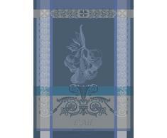 Garnier Thiebaut Torchon, Coton, Ardoise, 56x77 cm