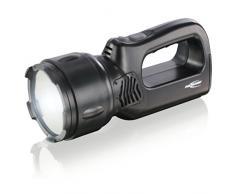 ANSMANN Projecteur rechargeable de travail professionnel HSL 1,3 W / Lampe torche portative directionnelle avec batterie intégrée et aimant / Lampe torche robuste pour le camping, la chasse ou latelier