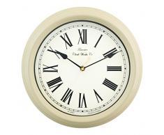 Acctim 26702 Redbourn - Horloge murale couleur crème