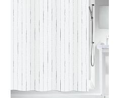 Spirella Rideau de Douche Polyester Alina 180x200, Grey, 200x180 cm