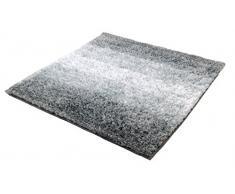 Kleine Wolke 4077977135 Oslo Tapis de bain Coton Platine 60 x 60 x 2 cm