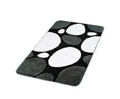 Ridder 7203100-350 Pebble Tapis de Bain Acrylique Noir 60 x 90 cm