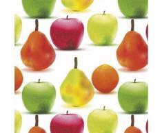 MAURER 5540201 Rouleau Nappe Toile Cirée 140 cm X 20 M Transparent de Fruits
