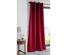 Lovely Casa R91840014 NOTTE Rideau Polyester Rouge 140 x 280