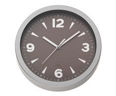 Kela Horloge Murale Stockholm Ø 20 cm, Plastique, 22732, Brun cashmere