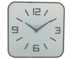 NeXtime 8149wi Shoko Horloge Verre Gris 43,0 x 43,0 x 3,1 cm