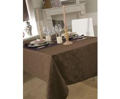 CALITEX Nappe DAMASSEE Ombra Taupe 150X200