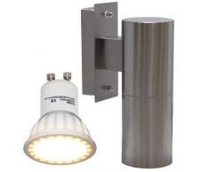 Long Life Lamp Company ZLC04LED Lampe de plafond Acier inoxydable