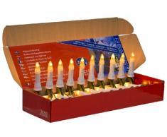 Konstsmide 2002-000 Guirlande de Sapin Bougie + 20 Lampes Claires 230 V