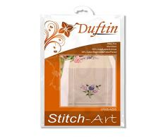 Duftin 07035-AZ05 Chemin Table Mary Ann 40x100 Lilas - Point varié, 62% Lin, 38% Coton