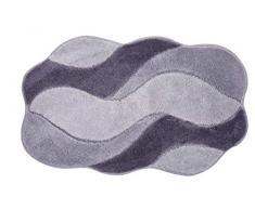 Grund Carmen Tapis de Bain, Polyacrylique Ultrasoft, Gris, 80x140 cm