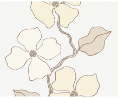 Esprit 1409-37 Papier Peint, Fleurs vrillées, Blanc Beige, Design City Glam (Import Allemagne)
