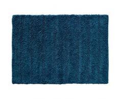 Douceur dIntérieur ESSENCIA Tapis de Bain, Coton, Bleu Nuit, 50 x 70 cm