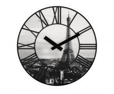 NeXtime 3004 La Ville Horloge Lentille Gris