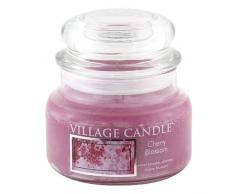 Village Candle Petite bougie parfumée Senteur fleurs de cerisier Jusquà 55 heures de combustion 701 g 11 x 10 cm