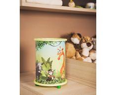 Elobra enfants lampe de table désert Jungle, chambre denfant, bois, vert tilleul, A + +