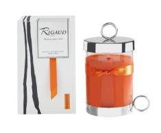 Rigaud BGM287760 Bougie Grand Modèle Vésuve Orange