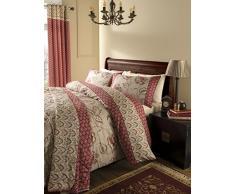 Catherine Lansfield - Parure de lit Double en Cachemire - Multicolore, Multicolore, Double