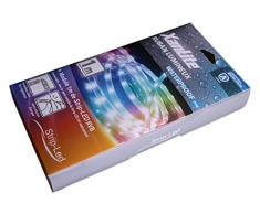 Xanlite LSBR1WRVB Ruban Lumineux Strip LED 1 m RVB Etanche Blanc