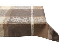 Garnier Thiebaut Nappe, Coton, Argile, 89x89 cm