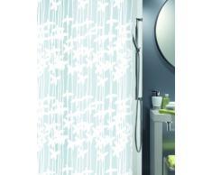 Spirella Sarong Rideau de douche Plastique PEVA opaque Blanc 180 x 200 cm