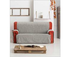 Eysa F2260931 Non-élastique Housse de canapé Chenille/Coton/Polyester/Acrylique Vison 37 x 5 x 29 cm