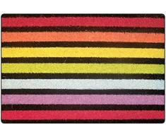 Tapis Déco Paillasson Imprimé Baya Coco/PVC Imprimé 60 x 40 cm