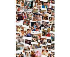 Empire Merchandising GmbH Poster avec Cadre Motif Photos Polaroid des Personnages de la série Friends