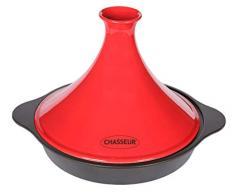 Chasseur - 1038 Tajine Fonte, rouge, 32 x 26,8 x 19,5 cm