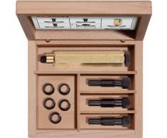 KS Tools 150.5050 THREADfi x kit de réparation pour roue à rochet M10 x 1,25 9 pièces pour bougies de préchauffage