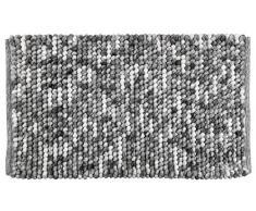 WENKO 23870100 Tapis de Bain Urdu, Polyester, 90 x 60 cm, Gris