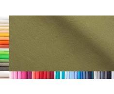 1buy3 Tissu XXL Vendu au mètre - Double : 75 cm de Large - Simple : 150 cm de Large - Couleur : 14 verrines - Longueur : 0,75 m - 96% Coton, 4% élasthanne - Plus de 50 Couleurs au Choix