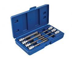 Blue Spot 01514 Jeu de douille TORX Set, 7 pièces, ultra longue
