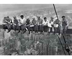 1art1 New York Poster - LHeure du Déjeuner Au Sommet dun Gratte-Ciel, 1932 (91 x 61 cm)