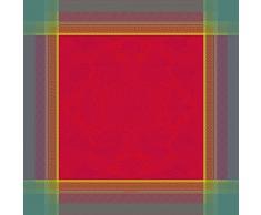 Garnier-Thiebaut ISAPHIRE Nappe Antitache, Coton, Rubis, 174 x 254 cm