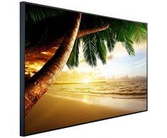 InfrarotPro Chauffage Infrarouge Palmier à Coucher de Soleil 120 x 75 x 3 cm