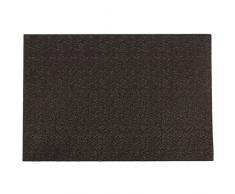 Ladelle Linge de Table Marshall 30x45cm Noir, Vinyle, 30x45x1 cm