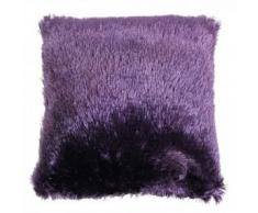 Enjoy Home Coussin 40x40, PLUCH Violet, Polyester, 40x40x1 cm