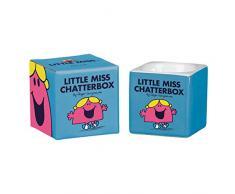 Mr Men et Little Miss Chatterbox Jouet Coquetier 6Â x 5,7Â x 5,7Â cm lm, bleu clair