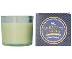 The Greatest Candle in the World TG075CC Cannelle Clous de Girofle Bougie dans Verre Recyclé Cire Végétale Lot de 2
