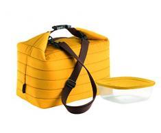 Guzzini, Grand Sac Isotherme A/Compartiment Fraicheur Handy, (Bag) 30 x 18 x h30 cm; (Container) 19,6 x 19,6 x h7 cm - 1400 cc