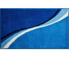 Grund LUCA Tapis de Bain Polyacrylique Supersoft, Bleu, 70x120 cm