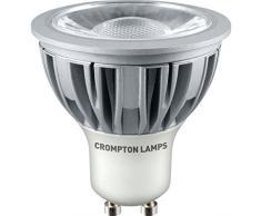 Crompton Ampoule LED GU105W COB Blanc chaud, intensité variable
