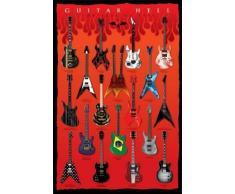 1art1® 54263 Poster Guitares Guitar Hell Les Axes du Mal 91 x 61 cm