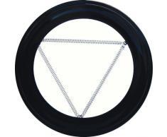 WOLFPACK 22010900 Plafonnier REDUCTEUR pour Radiateur 100 mm Noir