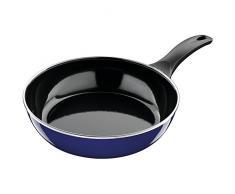 Silit 2110285007 Poêle Profonde, Émail, Bleu, 24 cm